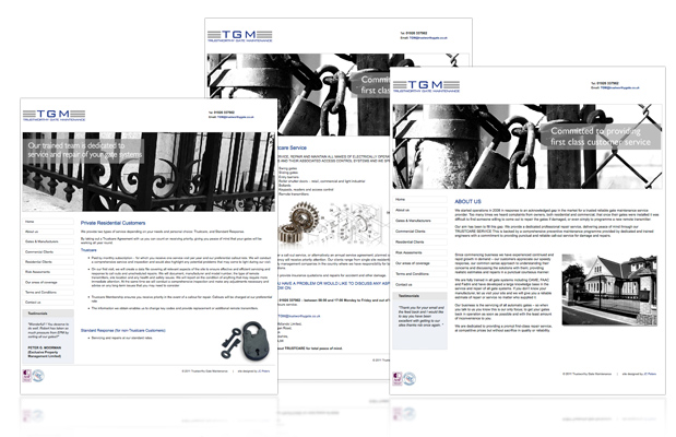 Fellows web design portfolio image
